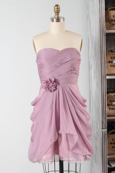 Really love this dress ....Wedding dress  chiffon party dress bridesmaid dress by RenzRags, $98.00