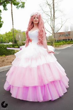 Rose quartz cosplay dress and have