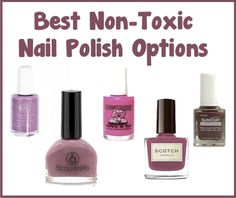 Best Non-Toxic Nail Polish Options | http://improvedaging.com/best-non-toxic-nail-polish-options/