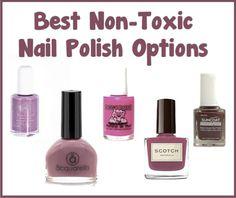 Best Non-Toxic Nail Polish Options | http://improvedaging.com/best-non-toxic-nail-polish-options/