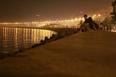 Marine drive... Night life!!