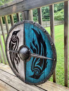 Assassins Creed, Vikings, Viking Wallpaper, Viking Shield, Crow Art, Shield Maiden, Oxblood, Leather Tooling, Origins