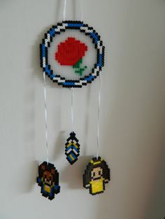 Beauty and The Beast inspired Dreamcatcher