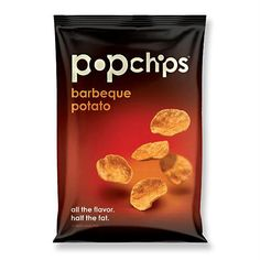 Popchips Popchips Barbeque - Gluten Free  #healthy #vitamins #healthybyhabit #nutrition