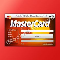 Mastercard Gift Card, Get Gift Cards, Gift Card Generator, Write It Down, Coding, Gifts, Presents, Favors, Gift