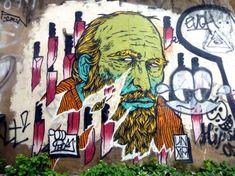 Unga (Broken Fingaz Crew) et Mr Phomer dans Brick Lane, London - www.street-art-avenue.com