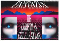 Fantazia Christmas Celebration 1991 @ Eclipse Club In Coventry - #raveflyers uploaded to #phatmedia