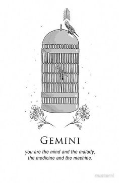 Nurses Week Quotes Discover Gemini - Shitty Horoscopes Book VIII: Medicine Greeting Card by musterni Gemini Art, Gemini Life, Gemini Quotes, Zodiac Signs Gemini, Zodiac Art, Gemini Symbol, Gemini Traits, Gemini Woman, Zodiac Quotes