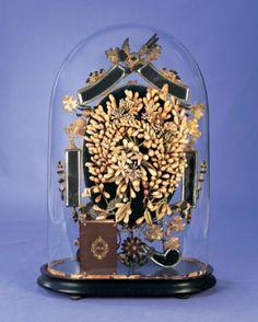 Memories of a Marriage: 69 Globe de Mariee with Elaborate Wax Orange Blossom Coronet