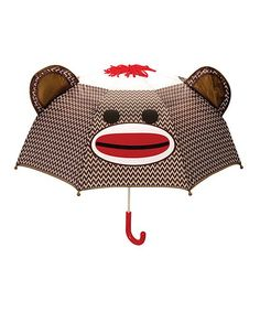 Sock Monkey Umbrella.