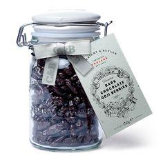 Cartwright & Butler Dark Chocolate Goji Berries