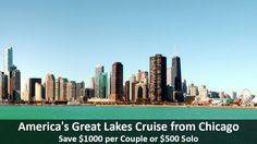 America's Great Lakes Cruise from Chicago - https://traveloni.com/vacation-deals/americas-great-lakes-cruise-chicago/ #gocruising #greatlakescruise #toronto #chicago