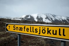 Snæfellsjökull, Iceland. Voyage au centre de la Terre [Photograph, dated April, 2009].