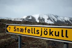 Snæfellsjökull, Iceland. Voyage au centre de la Terre [Photograph, dated April, 2009].