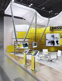 ZANUSSI exhibition stand on Behance: