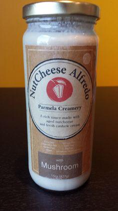 Parmela Creamery - NutCheese Alfredo - Mushroom #vegan