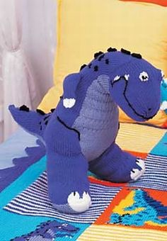 Free Knitting Pattern Dragon Toy : 1000+ images about Knit toys (dragons, dinosaurs) on Pinterest T rex toys, ...