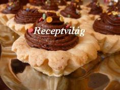 RECEPTVILÁG - Receptes oldal - receptek képekkel - G-Portál Waffles, Pancakes, Cookies, Breakfast, Dios, Crack Crackers, Morning Coffee, Biscuits, Waffle