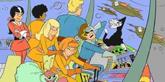 Josie and the Pussycats   The 10 Grooviest Cartoons From The 1970s