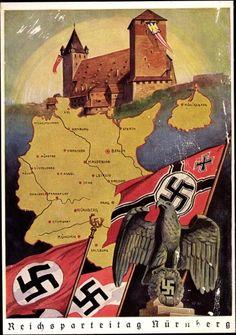 """.""""Ein Volk, Ein Reich, Ein Fuhrer"""" poster."""