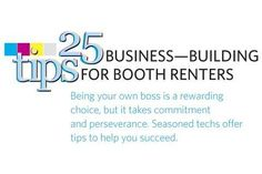 25 Business-Building Tips for Booth Renters - Business - NAILS Magazine