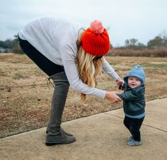 My Fall Staple - Barefoot Blonde by Amber Fillerup Clark Fall Winter Shoes, I Fall, Winter Hats, Amber Fillerup Clark, Fall Staples, Barefoot Blonde, Mom And Baby, Little People, Mom Style