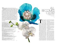 """Precious flowers"" by vanessalanzafame on Polyvore featuring moda, Balmain e Bloomingdale's"