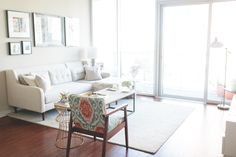 Colby Burlingame's Atlanta Apartment Tour #theeverygirl
