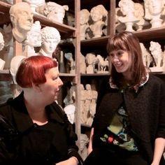 Watch Elettra Wiedemann and Lynn Yaeger Tour a Death Mask Museum Outside Paris  Marvelous Stuff!