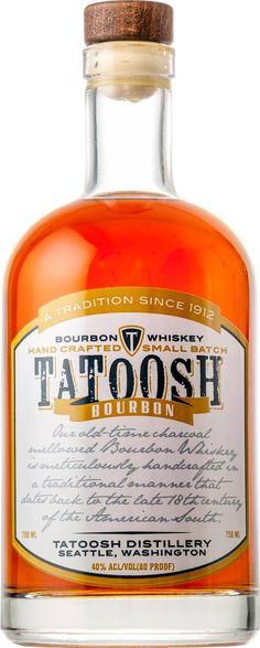 Tatoosh Small Batch Bourbon Whiskey | @Caskers