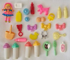 Pigs & Roses. Shelly. Kelly. Barbie. Vintage. Toys. Jueguete.