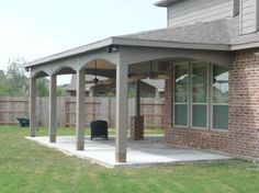 Patio Cover With Upper Arch Could Mimic The Arch Of Our Logia