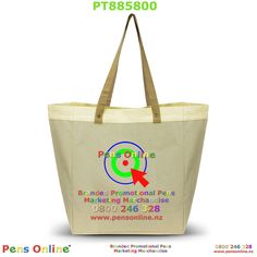 Large linen shopping bag, with long comfortable shoulder straps, branded with your logo in full colour. Marketing Merchandise, Promotional Pens, Natural Linen, Shoulder Straps, Bag Making, Paper Shopping Bag, Colour, Tote Bag, Color