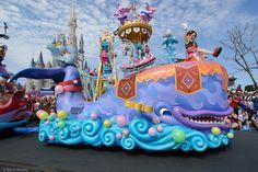 Monstro Pinocchio Parade Float