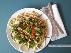 courgette makreel salade