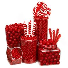 I found great Birthday Party Ideas on BirthdayExpress.com. Red Birthday Candy Buffet, Birthday Express helps create memories that last a lifetime - click here to start the fun!