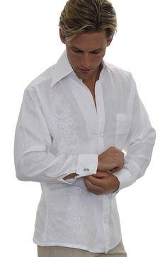 embroidered-linen-wedding-shirt