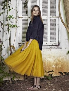 Or perhaps even sandals… | 19 Midi Skirt Styles You Just Have To Try