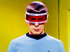 Spock in shades