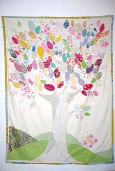 "Our ""tree quilt"""