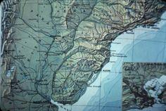 Karte Paraná, Rio de Janeiro, Sao Paulo, Dia_298-00423