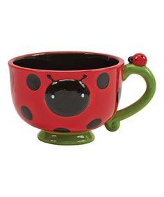 Ladybug Soup Mug