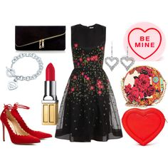Valentine's Day Date Night Outfit Idea - Chic From Hair-2-Toe