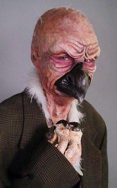 So creepy omg insane Vulture by Spfx