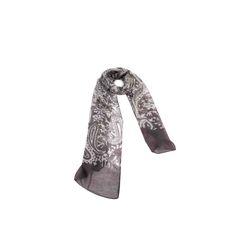 Echarpe Cashmere Cinza de Algodão #echarpes #lenços #lenço #scarf #scarfs