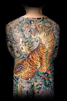 TATTOO/IREZUMI/ART/Irezumi Japanese traditional art 'Oukoshisei' Tora
