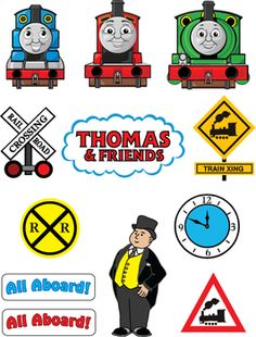 Thomas the Tank Stickers Stickers