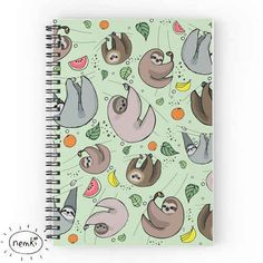 This cheerful notebook.