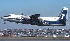 Trans Australian Airlines Fokker F 27-100 (VH-TQS)