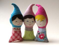 Baby Gnome DOLL Toy  Eco Friendly Personalized by SewnNatural, $29.00